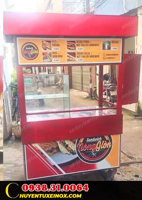 Giá xe bán bánh mì
