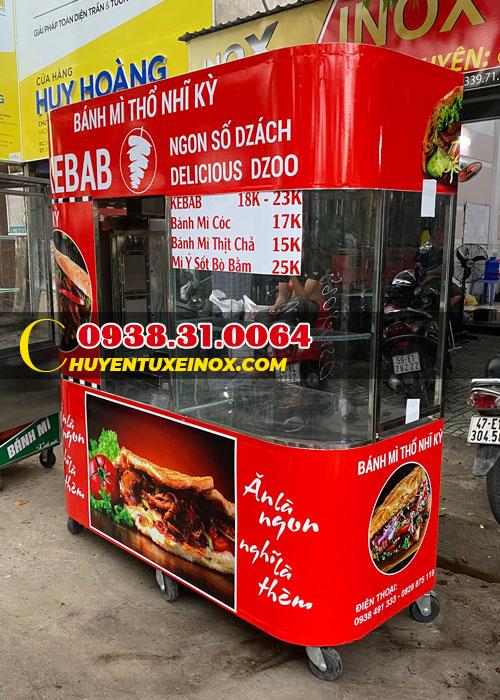 Xe bán bánh mì Thổ Nhĩ Kỳ