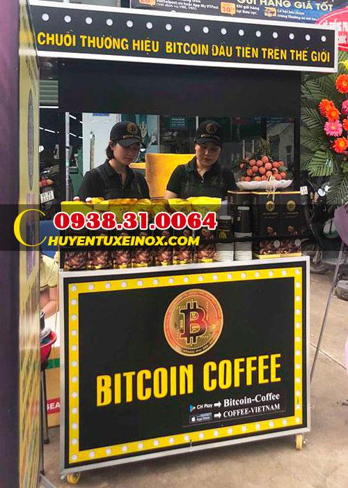 Xe đẩy bán cà phê mang đi