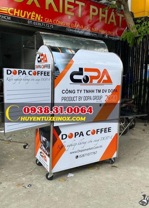 Xe đẩy cafe take away