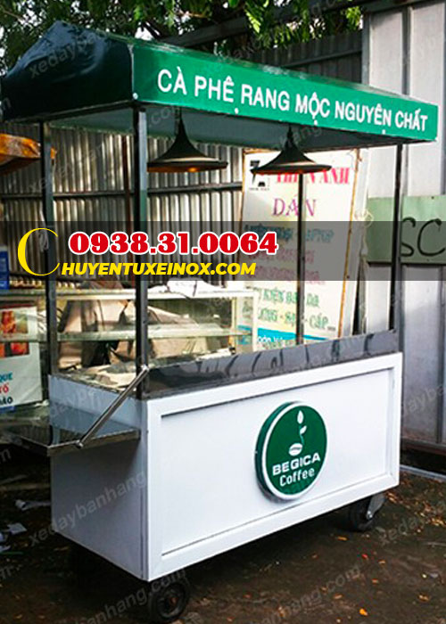 Xe đẩy cafe take away