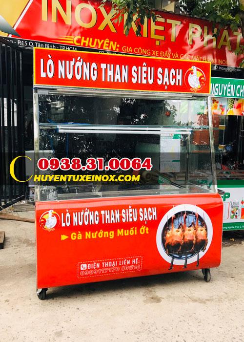 Xe bán gà nướng