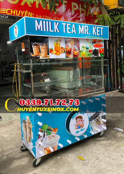 Xe bán trà sữa