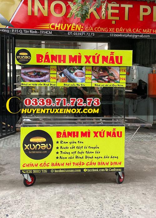 Tủ xe bán bành mì