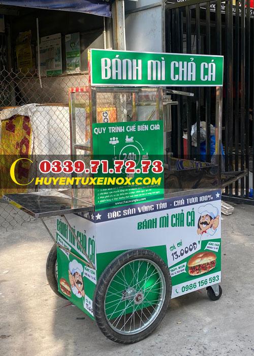 Bán xe bánh mì chả cá giá rẻ